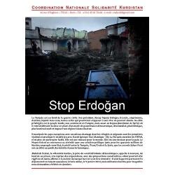 "Brochure ""4 pages"" Stop Erdogan (lot de 20)"