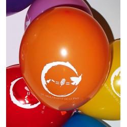 """10 ballons """"Mouvement de la Paix"""""""