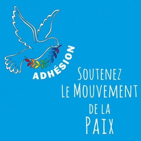 Adhésion au Mouvement de la Paix