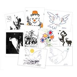 Cartes de voeux Picasso (lot de 6)