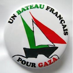 Badge Un Bateau pour Gaza