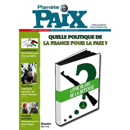 Planète Paix n°578