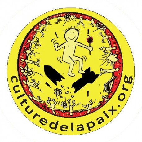 Badge Culture de la Paix