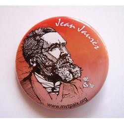 Badge Jean Jaurès
