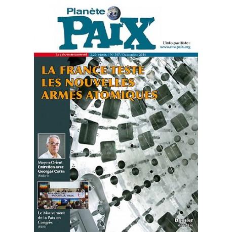 Planète Paix n°597