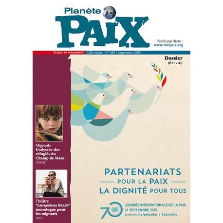 Planète Paix n°604 (septembre 2015)