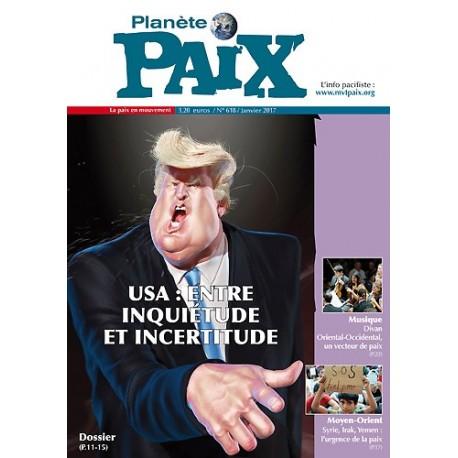 Planète Paix n°618 (janvier 2017)