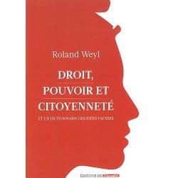 Livre Droit, Pouvoir et Citoyenneté