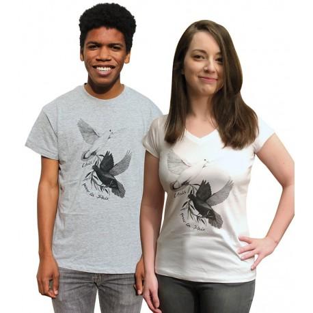 """Tee-shirt """"Unis pour la Paix"""""""