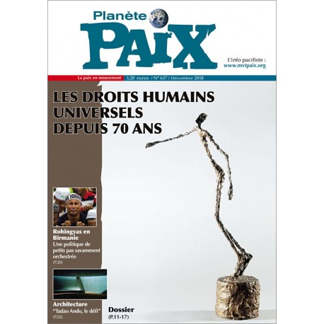 Planète Paix n°637