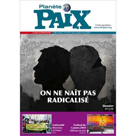 Planète Paix n°643 (été 2019)