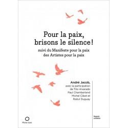 Livre Pour la paix, brisons le silence !