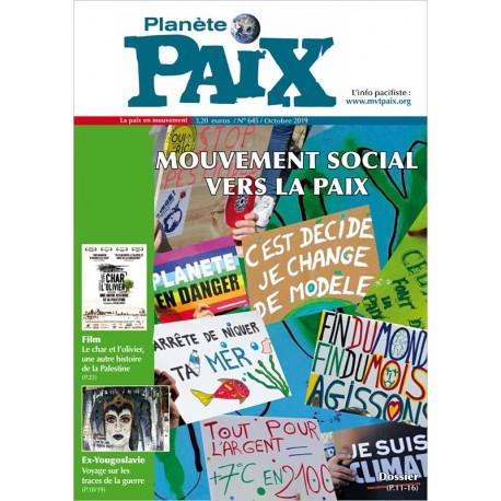 Planète Paix n°645 (octobre 2019)