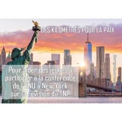 """Don """"Des Kilomètres Pour La Paix"""""""