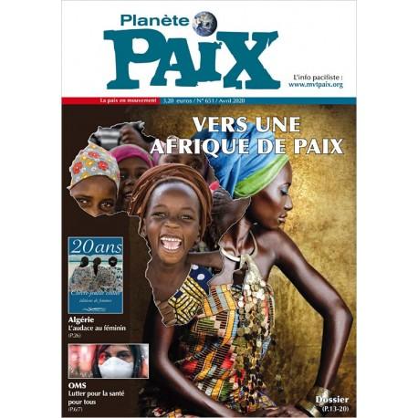 Planète Paix n°651 (avril 2020)