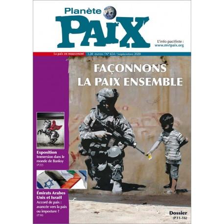 Planète Paix n°654 (septembre 2020)
