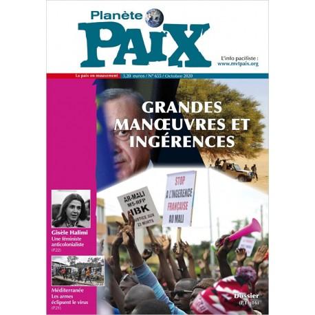 Planète Paix n°655 (octobre 2020)