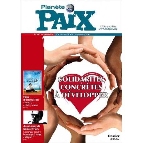 Planète Paix n°656 (novembre 2020)