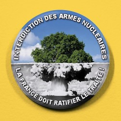 Badge Interdiction des Armes Nucléaires