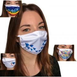 Lot de 4 masques en tissu