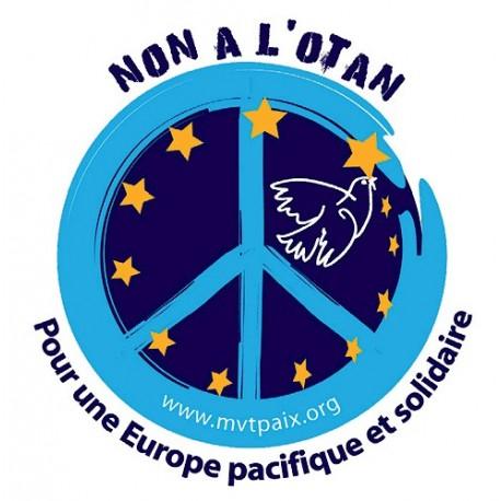 Autocollant Non à l'OTAN