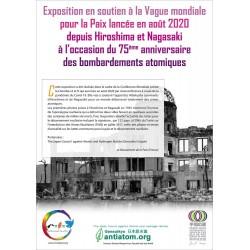 Exposition commune Gensuiko - Mouvement de la Paix