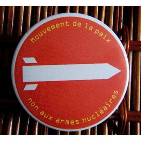 Badge Non aux armes nucléaires