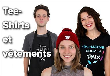 Tee-Shirts pacifistes